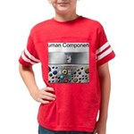 button pushers copy Youth Football Shirt