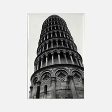 Leaning Tower of Pisa Rectangle Magnet
