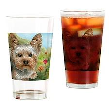 Dog 117 Drinking Glass