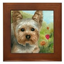 Dog 117 Framed Tile