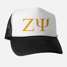 Zeta Psi Letters Trucker Hat