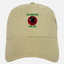 Pig hunter for life cap
