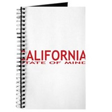 california state of mind red Journal