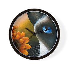 Cat 575 Wall Clock