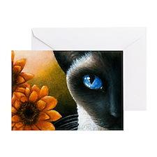 Cat 575 Greeting Card