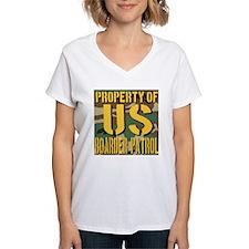 Property of US Boarder Patrol Shirt