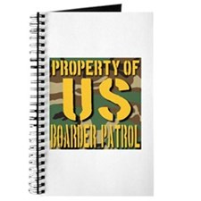 Property of US Boarder Patrol Journal