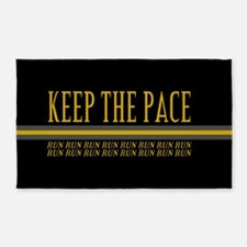 Running Keep the Pace 3'x5' Area Rug