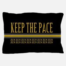 Running Keep the Pace Pillow Case