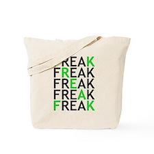 freak x green Tote Bag