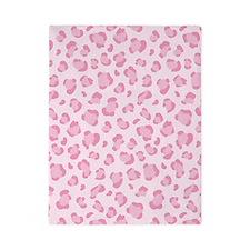 Pink Leopard pattern Twin Duvet