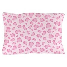 Pink leopard pattern Pillow Case