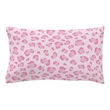 Pink leopard pattern Pillow Case