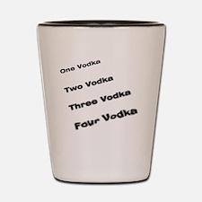 vodka drinking Shot Glass