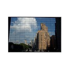 Cute Manhattan nyc Rectangle Magnet