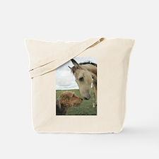 Dog & Horse Friends Tote Bag