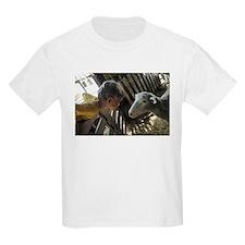 Boy & Sheep Friends Kids T-Shirt