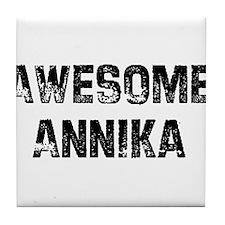 Awesome Annika Tile Coaster