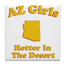 AZ Girls Tile Coaster