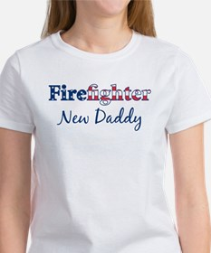 Firefighter New Daddy Tee