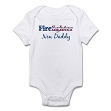 Firefighter New Daddy Infant Bodysuit