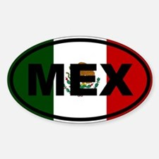 Mexico MEX Decal