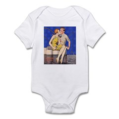 Kissing & Fishing Infant Bodysuit