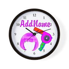 HOT HAIR STYLIST Wall Clock