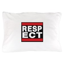 respect red Pillow Case