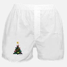 SCOTTISH TERRIER CHRISTMAS TREE Boxer Shorts