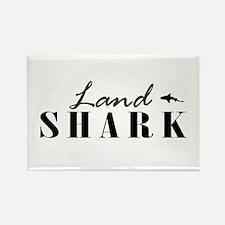 Land Shark Rectangle Magnet