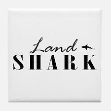 Land Shark Tile Coaster