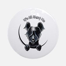 Skye Terrier IAAM Ornament (Round)