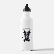 Skye Terrier IAAM Water Bottle