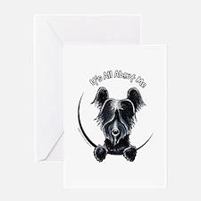 Skye Terrier IAAM Greeting Card