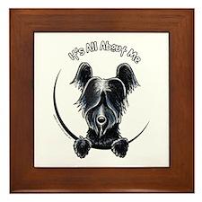 Skye Terrier IAAM Framed Tile