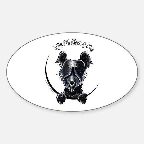 Skye Terrier IAAM Sticker (Oval)