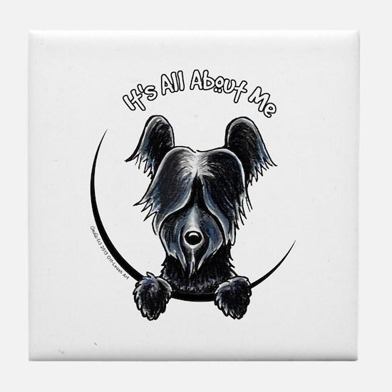 Skye Terrier IAAM Tile Coaster