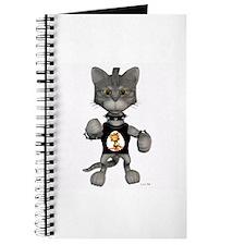 Cute Digital kitty Journal