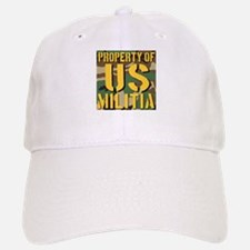 Property of US Militia Baseball Baseball Cap