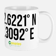 Norwich Canaries Coordinates Mug