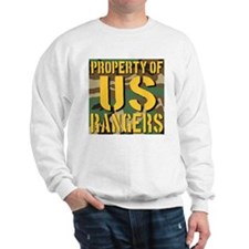 Property of US Rangers Sweatshirt