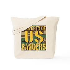 Property of US Rangers Tote Bag