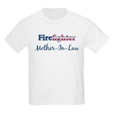 Firefighter Mother-In-Law Kids T-Shirt