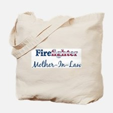 Firefighter Mother-In-Law Tote Bag