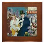 Cabaret Stories Framed Tile