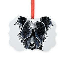 Skye Terrier Portrait Ornament