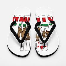 Cali Bear Born Stunna Flip Flops