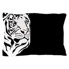 Black and white Tiger Pillow Case