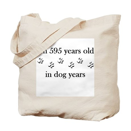 85 birthday dog years 4-1 Tote Bag